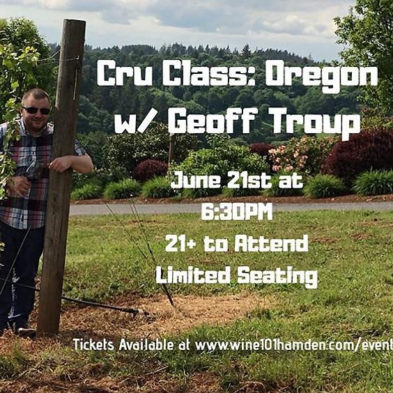 Cru Class: Wines of Oregon
