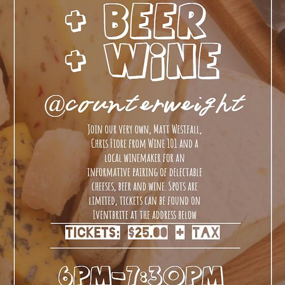 Beer v Cheese v Wine Pairing