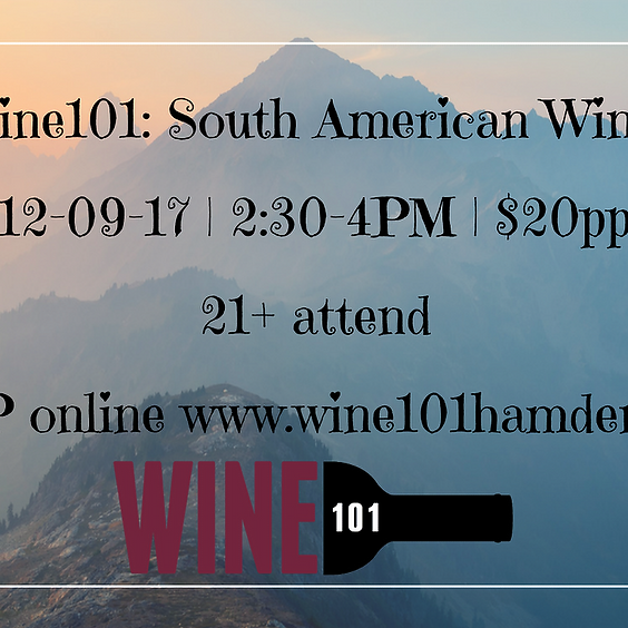 Wine101: South American Wines