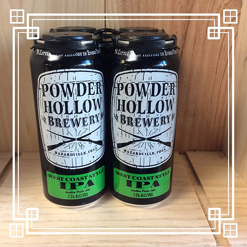 Powder Hollow West Coast IPA 4pk