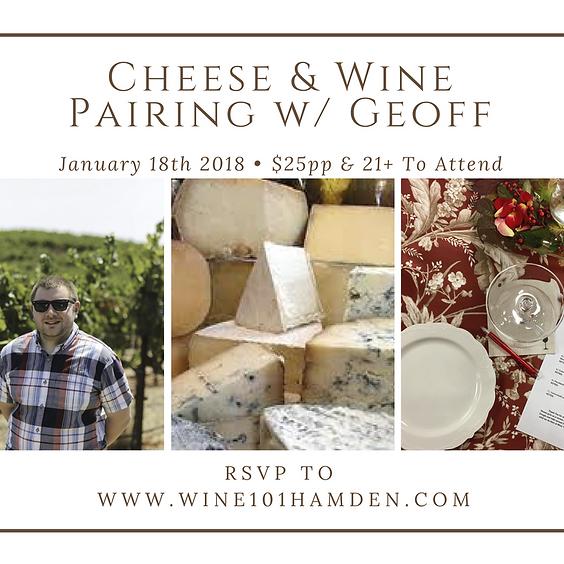 Wine101: Cheese & Wine w/Geoff Troup