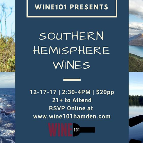Wine101: Southern Hemisphere Wines