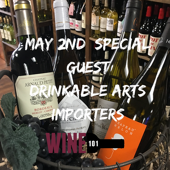 French Wines with Drinkable Arts