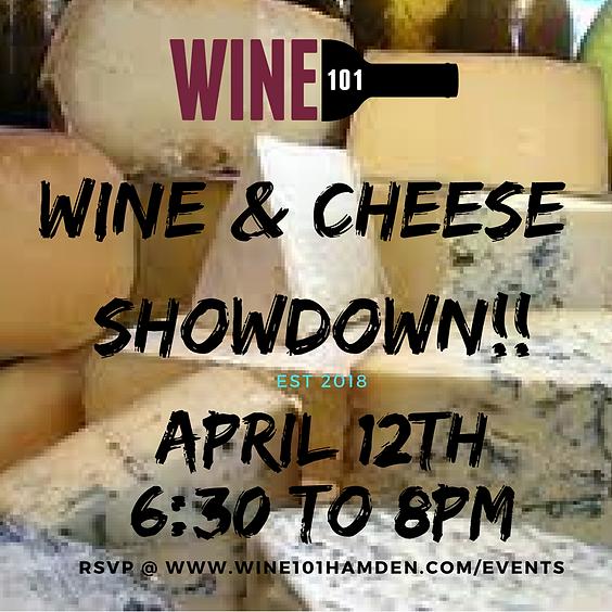 Wine & Cheese Showdown