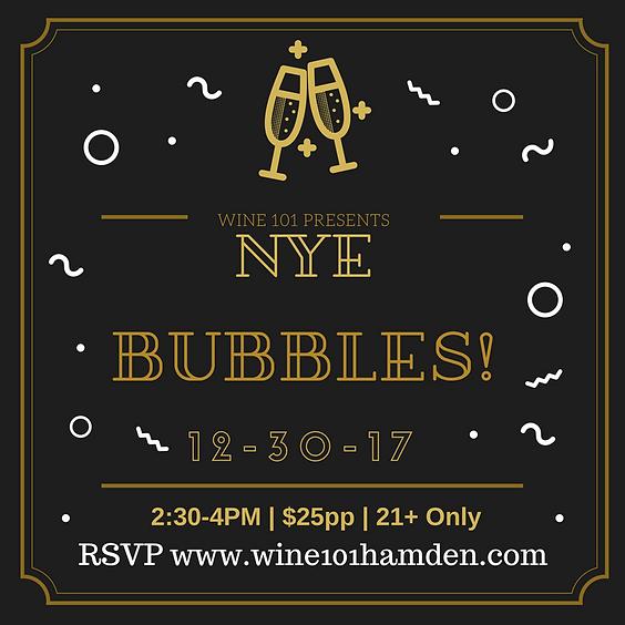 Wine101: NYE Bubbles!