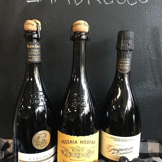 Virtual Wine Class: Lambrusco