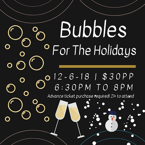Bubbles For The Holidays