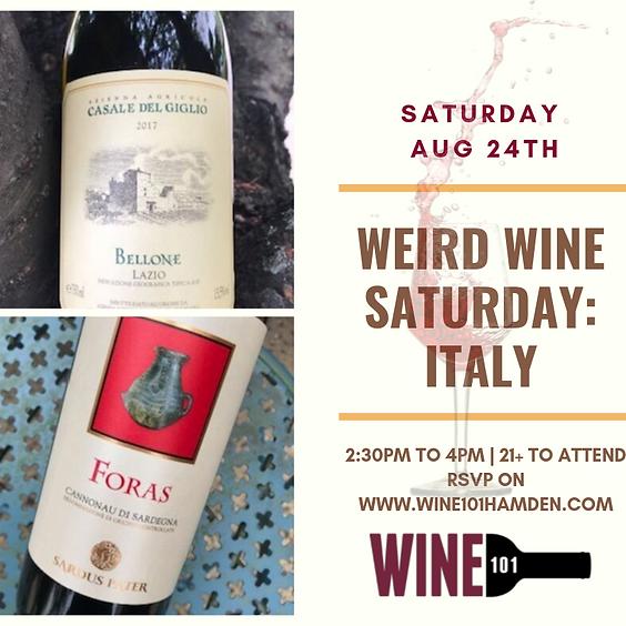Weird Italian Wines