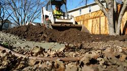 grading soil