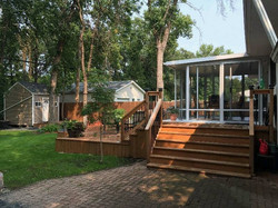 deck and patio