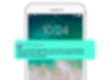 FRENCH Smartphone White_Mode PUSH notifi