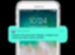 Smartphone White_Mode PUSH notifictions
