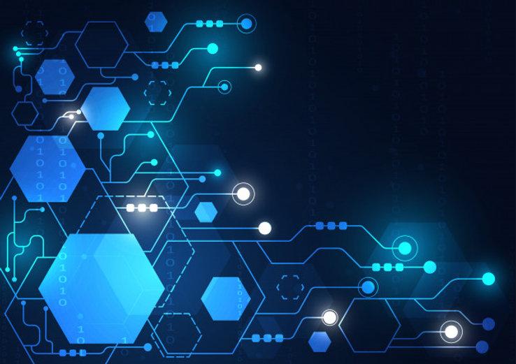 high-tech-technology-geometric-connectio