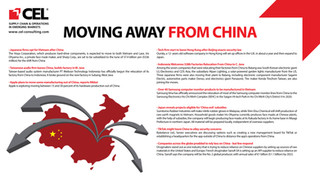 Moving Away From China
