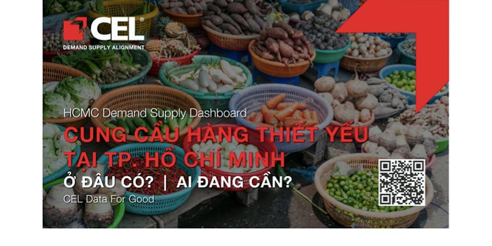 CEL Data For Good | CUNG CẦU HÀNG THIẾT YẾU TẠI TP.HCM: Ở ĐÂU CÓ? AI ĐANG CẦN?