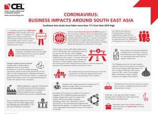 Coronavirus: Business Impacts Around South East Asia