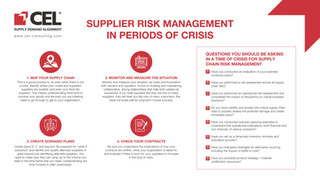 SUPPLIER RISK MANAGEMENT IN PERIODS OF CRISIS