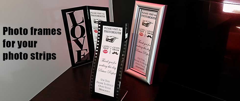 photo strip frames for photo booth pictures