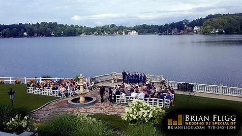 Wedding DJ ceremony