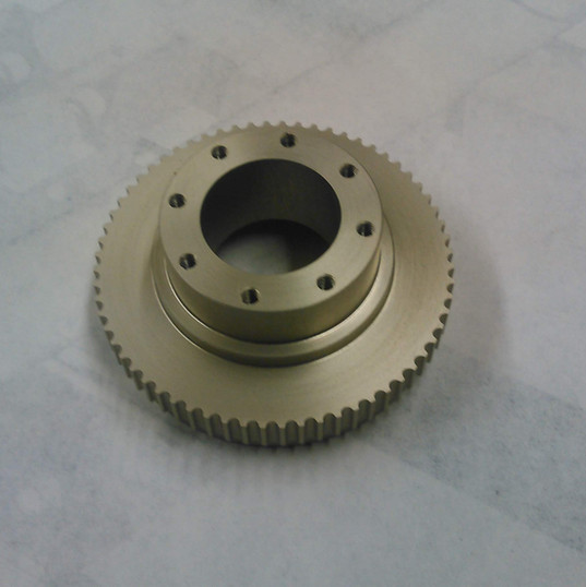 Brass Pulley CNC
