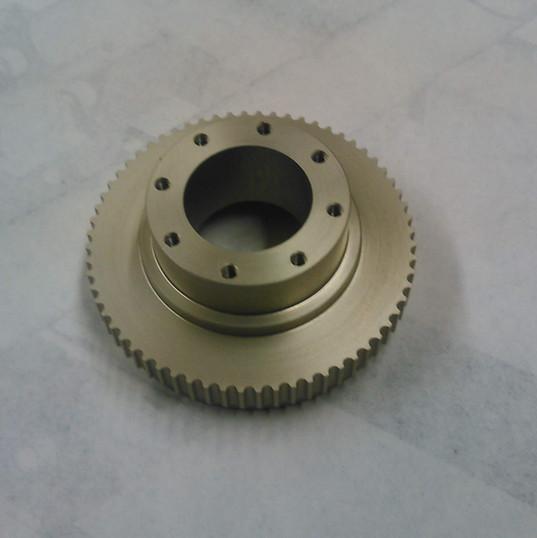Brass Pulley CNC