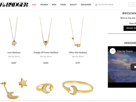Now Stocked by the amazing        Wolf & Badger