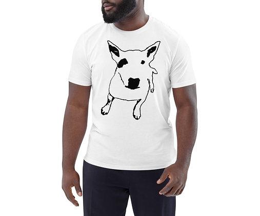 Men's organic cotton t-shirt Bull Terrier