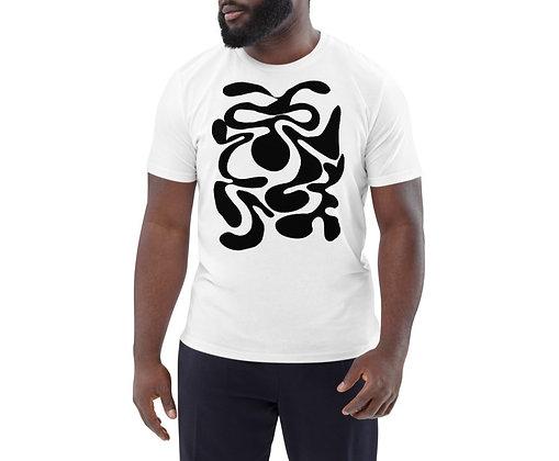 Men's organic cotton t-shirt Hidden black
