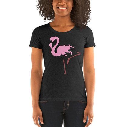 Ladies' short sleeve t-shirt Flamingo