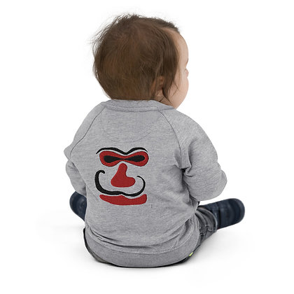 Baby Organic Bomber Jacket Face one