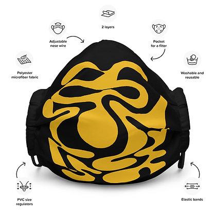 Face mask Hidden / Yellow