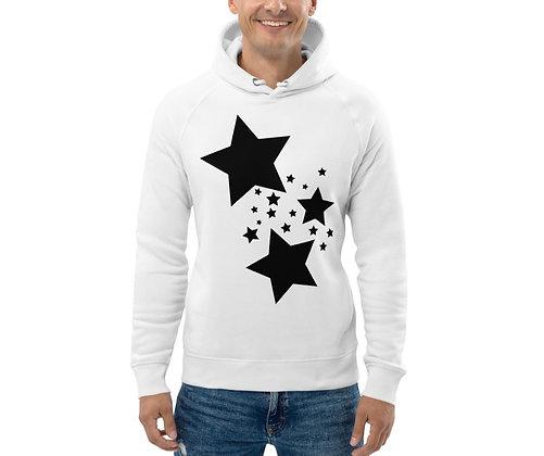 Men's Eco Hoodie Black stars