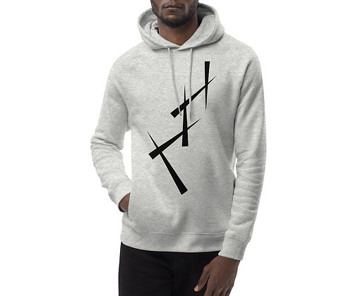 Men's Eco Hoodie Triangulate