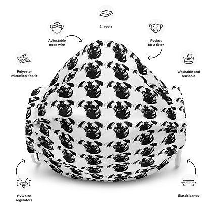 Face mask Griffon petit brabancon pattern