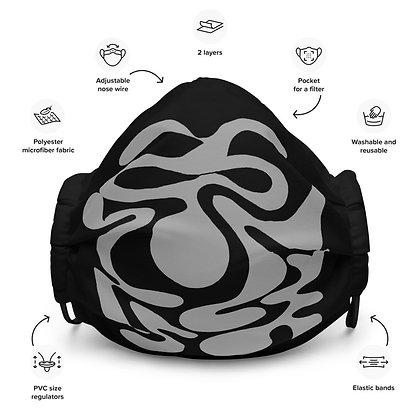 Face mask Hidden / Grey