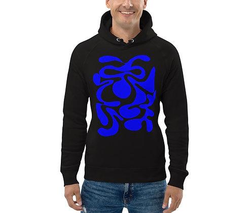 Men's Eco Hoodie Hidden blue