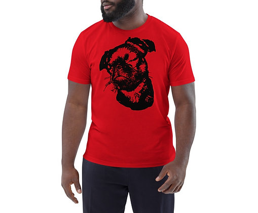 Men's organic cotton t-shirt Griffon petit brabancon 3