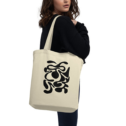 Eco Tote Bag Hidden black