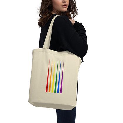 Rainbow, hbtq, happy pride, pride, tygväska, tygkasse