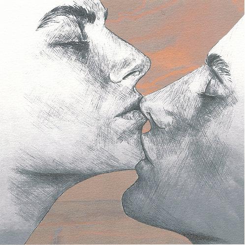 kyss, sensuell