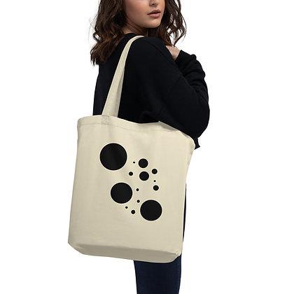 Eco Tote Bag Black dots
