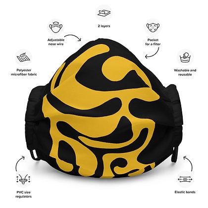 Face mask Dancing / Yellow