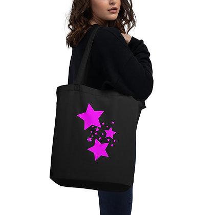 Eco Tote Bag Pink stars
