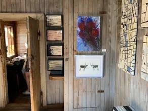 My room at Summer mill art at kukkolaforsen! Online at www.jalaonlinestore.com