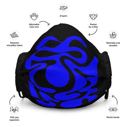 Face mask Hidden / Blue