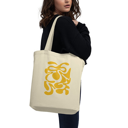 Eco Tote Bag Hidden yellow