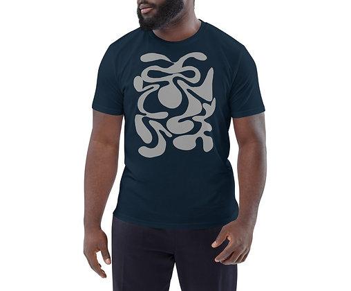 Men's organic cotton t-shirt Hidden grey