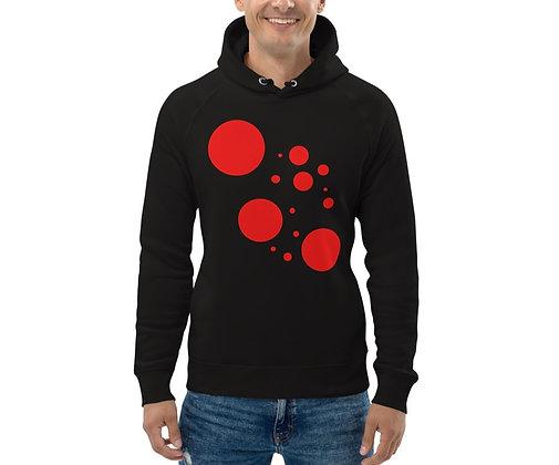 Men's Eco Hoodie Red dots