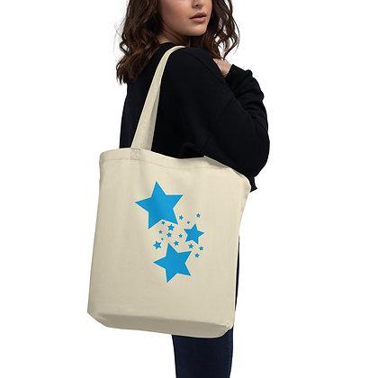 Eco Tote Bag Blue stars