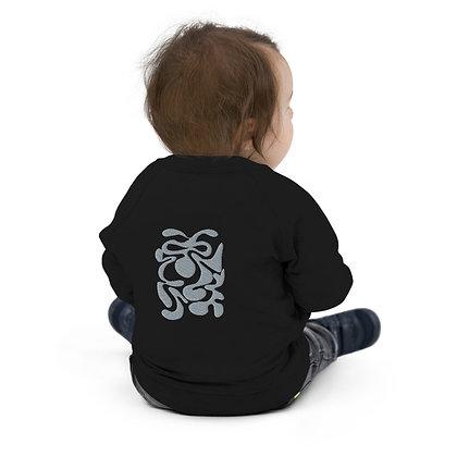 Baby Organic Bomber Jacket Hidden grey